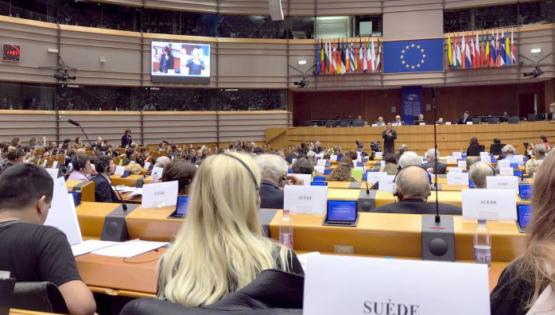 Bild från Europaparlamentet